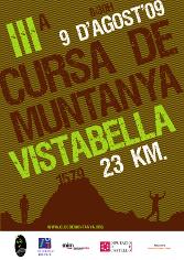Cartell Cursa Vistabella 2009