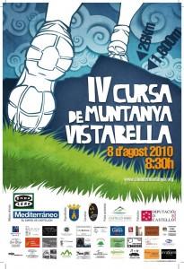 Cartell Cursa Vistabella 2010