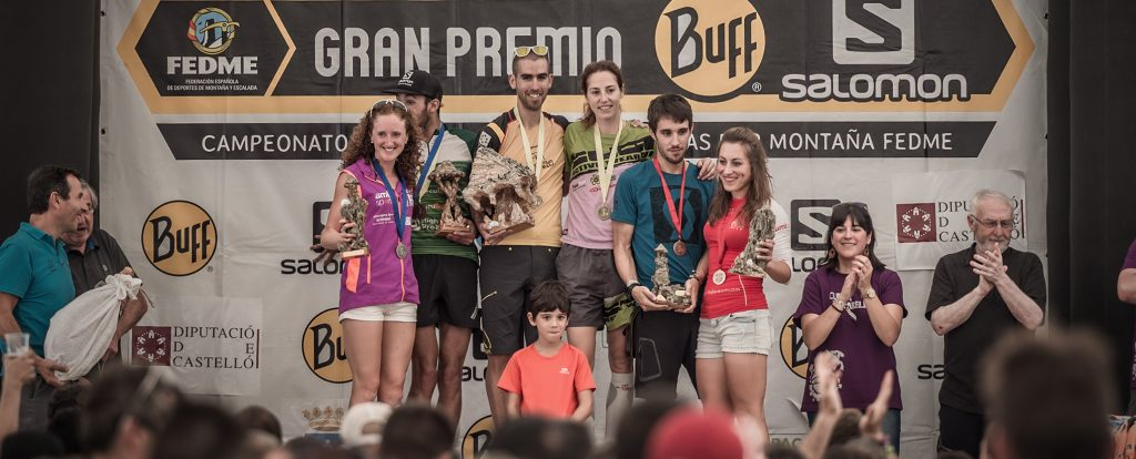 Podium Vistabella 2016